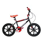 "image of Zombie Fuse BMX Bike 16"" Mag Black/red"