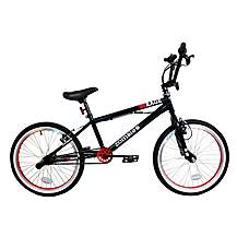 "image of Zombie Rage BMX Bike 20"" Black/red"