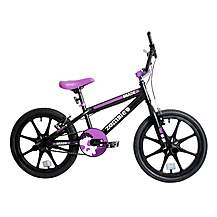 "image of Zombie Shade BMX Bike 18"" Mag Black/purple"