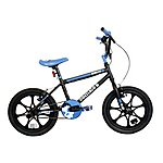image of Zombie Spawn BMX Bike 16inmag Black/blue