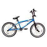 "image of Zombie Thug BMX Bike 20"" Blue/black"