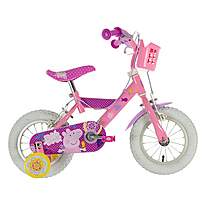 image of Peppa Pig Kids Bike - 12""