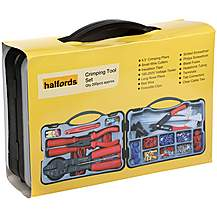 image of Halfords Electrical Repair Crimping Tool Kit