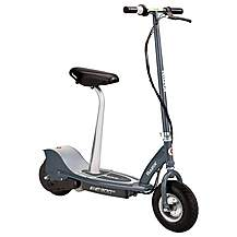 image of Seated Electric Scooter - Matte Grey - Razor E300s