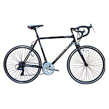 image of Viking Phantom Mens 700c 14 Speed Road Racing Bike Black