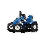 image of Pedal Go Kart - Blue - Berg Holland Bfr-3