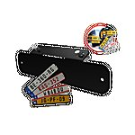 image of Kids Number Plates Kit - Black - Berg