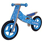 image of Kidzmotion Bubbles Wooden Balance Bike