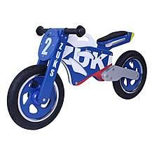image of Kidzmotion Zuks Wooden Motorbike Balance Bike 2017 Design