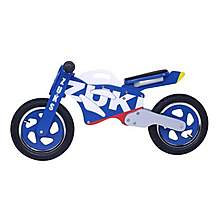 image of Kidzmotion Zuks Wooden Motorbike Balance Bike 2017 Design