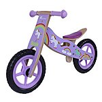 image of Kidzmotion Dazzle Wooden Balance Bike
