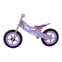 image of Kidzmotion Dazzle Wooden Balance Bike