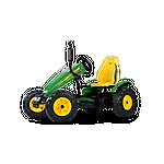 image of Pedal Go Kart - Green & Yellow - Berg John Deere Bfr-3