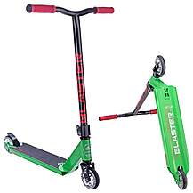 image of Crisp Blaster Stunt Scooter - Black/green