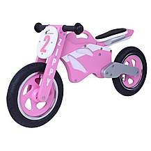image of Kidzmotion Zippy Wooden Motorbike Balance Bike 2017 Design