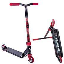 image of Crisp Blaster Stunt Scooter - Black / Red Flake