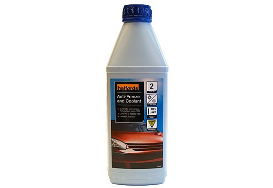 Halfords Antifreeze & Coolant Concentrate 1 Litre