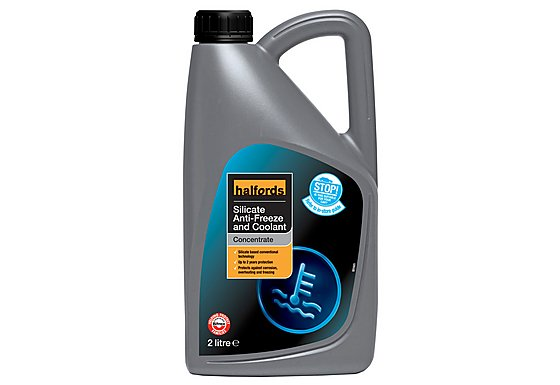 Halfords Silicate Antifreeze Concentrate 2 Litres