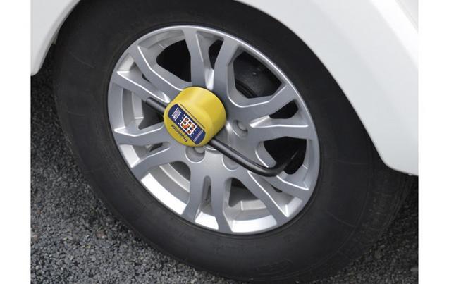 Car Security  Steering Wheel Lock  Wheel Clamp  Halfords