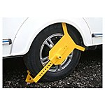 image of Maypole Wheel Clamp 10 Inch To 16 Inch