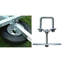 image of Maypole Universal Spare Wheel Carrier For Use With Erde 102, 122, 142 And 143 Trailers