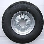 image of Spare Trailer Wheel For Use With Erde 142 And Erde 143 Trailers