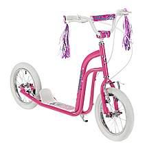 "image of Concept Princess Girls 14"" BMX Style Push Kick Scooter Pink"