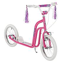 "image of Concept Princess Girls 16"" BMX Style Push Scooter Pink"