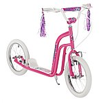 """image of Concept Princess Girls 16"""" BMX Style Push Scooter Pink"""