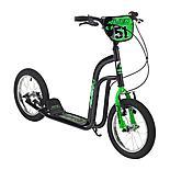 "Concept Alien Boys 14"" BMX Push Scooter Black/green"