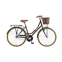 image of Brooklyn Village Womens 26in Wheel Black Dutch Style Bike