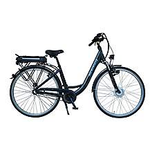 image of Lindsey West Lw 430 17in Frame Step Through Electric Bike Black