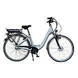 Lindsey West Lw 436 17in Frame Step Through Electric Bike Silver