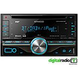 Kenwood DPX-406DAB Double Din with Bluetooth hands-free