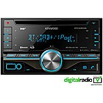 image of Kenwood DPX-406DAB Double Din with Bluetooth hands-free