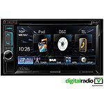 image of Kenwood DDX-4015DAB Digital Radio with Bluetooth for hands-free