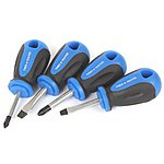 image of Tried + Tested 4 Piece Stubby Screwdriver Set