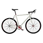 image of Claud Butler Lombard St 53cm Mens 700c Fixed Gear Bike White