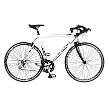 image of Viking Elite 59cm Mens 18 Speed Road Racing Bike White