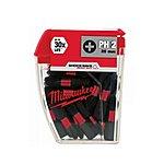 image of Milwaukee Shockwave 25 X PH2 25MM Screwdriver Bits