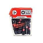 image of Milwaukee Shockwave 25 X PZ2 25MM Screwdriver Bits