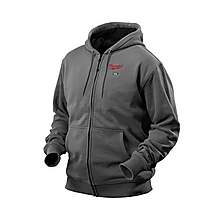 image of Milwaukee 12V Heated Hoody Grey Large