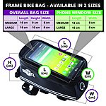 image of BTR Bike Bag Phone Holder Pannier 2017 Edition