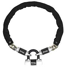 image of Master Lock Criterion High Security Chain with Mini D Lock