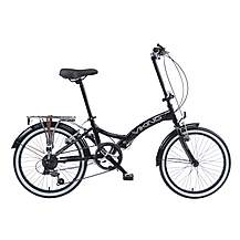 image of Viking Metropolis Unisex 13in Folding Bike Black