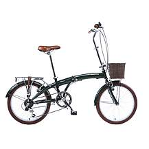 image of Viking Westwood Unisex 11in Folding Bike Green