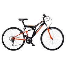 image of Integra Nt26 Full Suspension Mountain Bike Orange