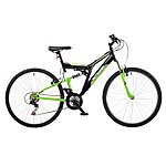 image of Integra Nt26 Full Suspension Mountain Bike Green