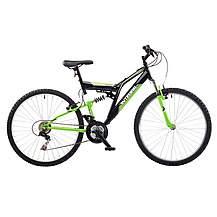 image of Integra Nt26 Full Suspension Mountain Bike Green
