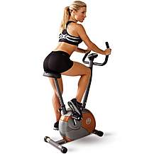 image of Marcy Start Me708 Upright Magnetic Exercise Bike